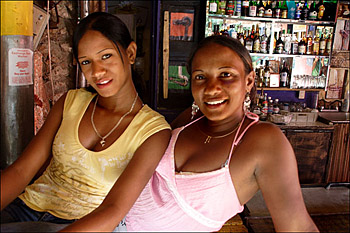Bar Girls, Sosua, D.R.